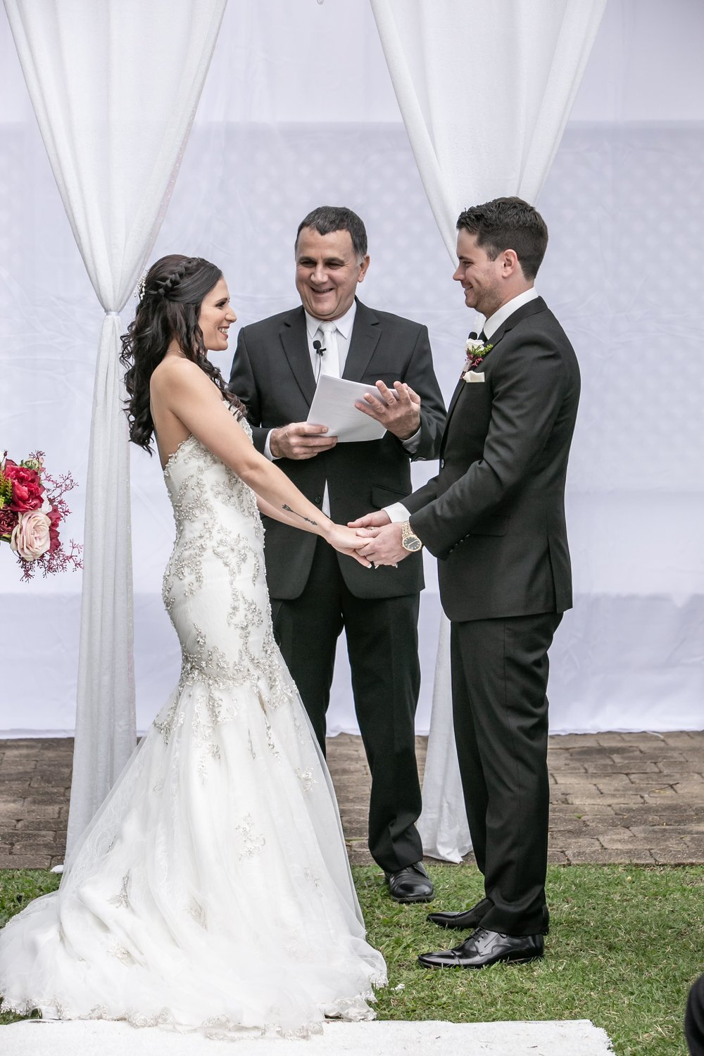 Hi Neal  Thank you so much for marrying us on Sunday.  It was a beautiful ceremony.  Bella and Lachlan  Ceremony held at Stamford Plaza Brisbane