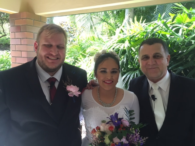 Thank You Neal  The Service was exceptional and the weather great.  Thanks for all your work.  We will recommend you to our friends when they wish to get married in the future.  Chris and Shuhaili Crane!!!    Ceremony held at Brisbane Botanical Gardens