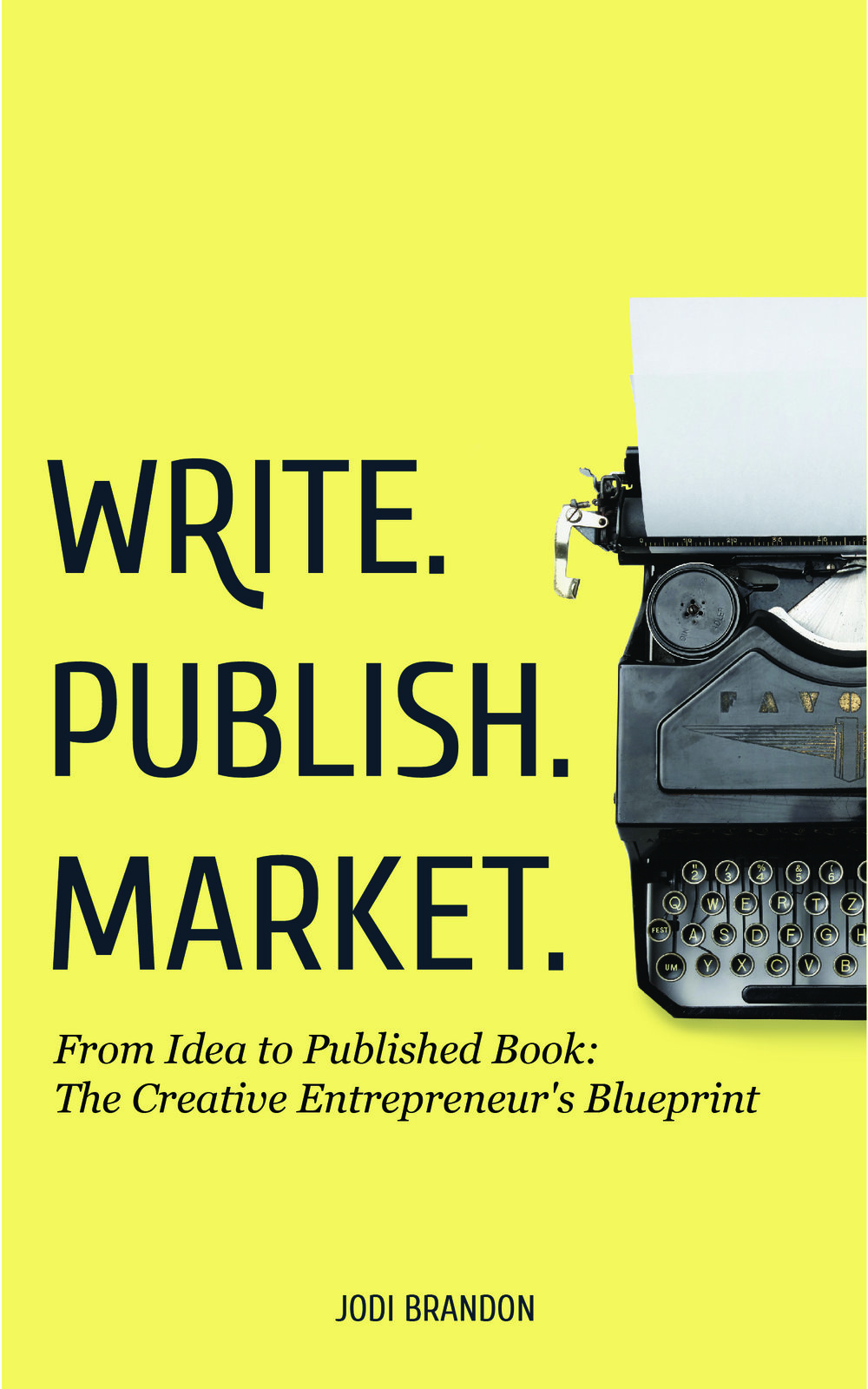 Write. Publish. Market Book