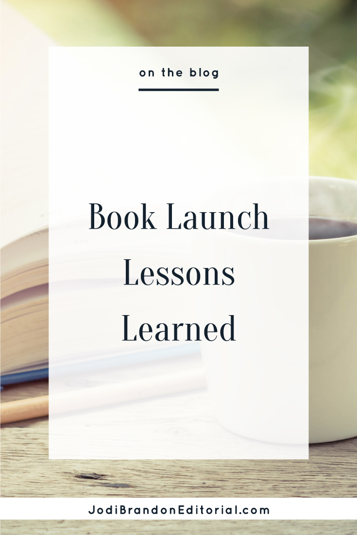 Launching a book is serious business. If you've ever launched a course or product, you know this. A book is no different. I asked some of my friends in the creative entrepreneur and writing communities what they wish they'd known before launching their first book.  |  Jodi Brandon Editorial