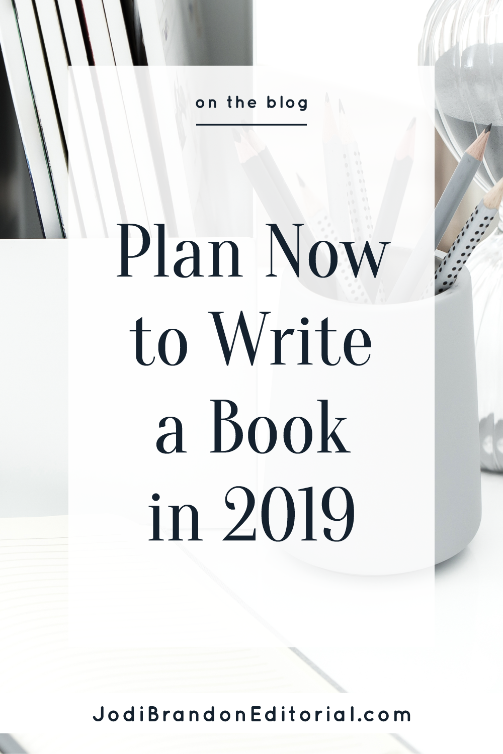 Writing a book isn't a small goal. It's likely not something you decide to do on a whim (let alone do it that way!). If writing a book to serve your business this year is on your radar, here are your first steps.  |  Jodi Brandon Editorial