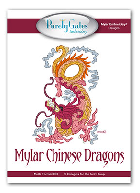 Mylar Chinese Dragons
