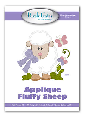 Applique Fluffy Sheep