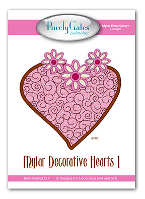Mylar Decorative Hearts 1