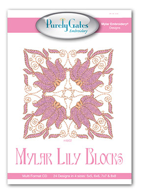 Mylar Lily Blocks