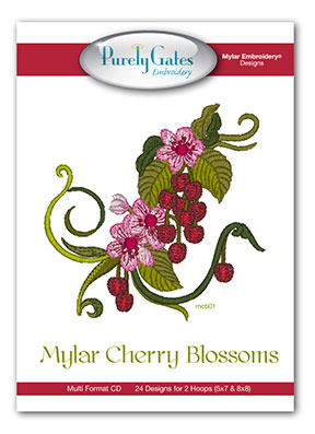 Mylar Cherry Blossoms