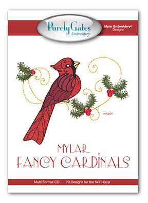 Mylar Fancy Cardinals