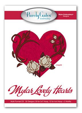 Mylar Lovely Hearts