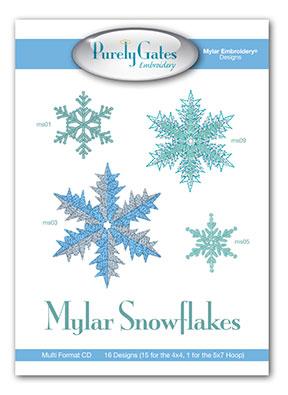 Mylar Snowflakes