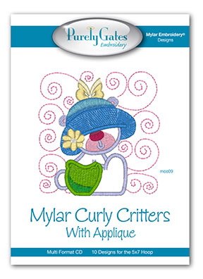Mylar Curly Critters with Mylar