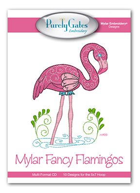 Mylar Fancy Flamingos