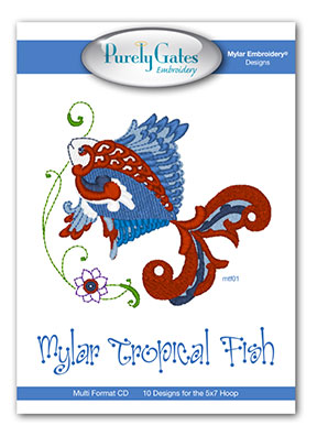 Mylar Tropical Fish