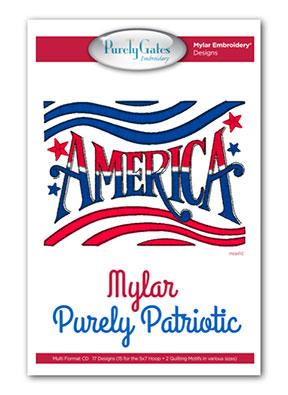Mylar Purely Patriotic