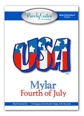 Mylar Fourth of July