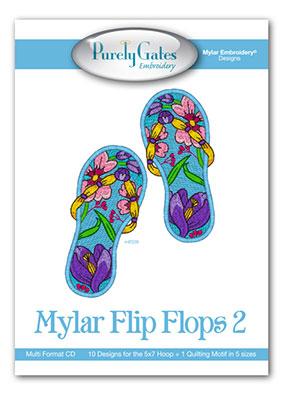 Mylar Flip Flops 2