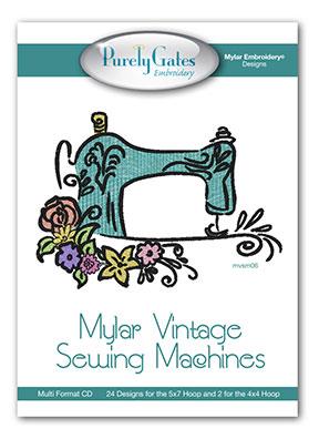 Mylar Vintage Sewing Machines