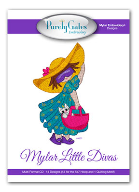 Mylar Little Divas