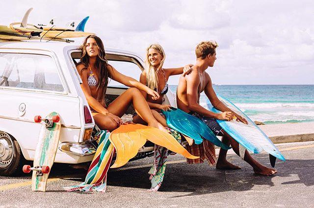 Campaign for @mahinamermaid in Byron Bay #beach #surfing #youth #youthculture #mermaid #mermaiding #summer #travelgram #travel #vintage #roadtrip #friends #ocean #australia #byronbay #canonaustralia #imagesupply