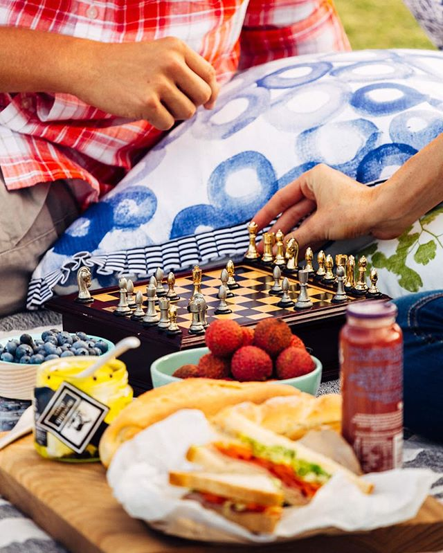 What long weekends are for. #longweekend #picnic #friends #chess #imagesupply