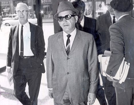 A growing war with the Chicago mob...  - Sam Giancana is threatening to derail Kennedy's 1964 election bid.