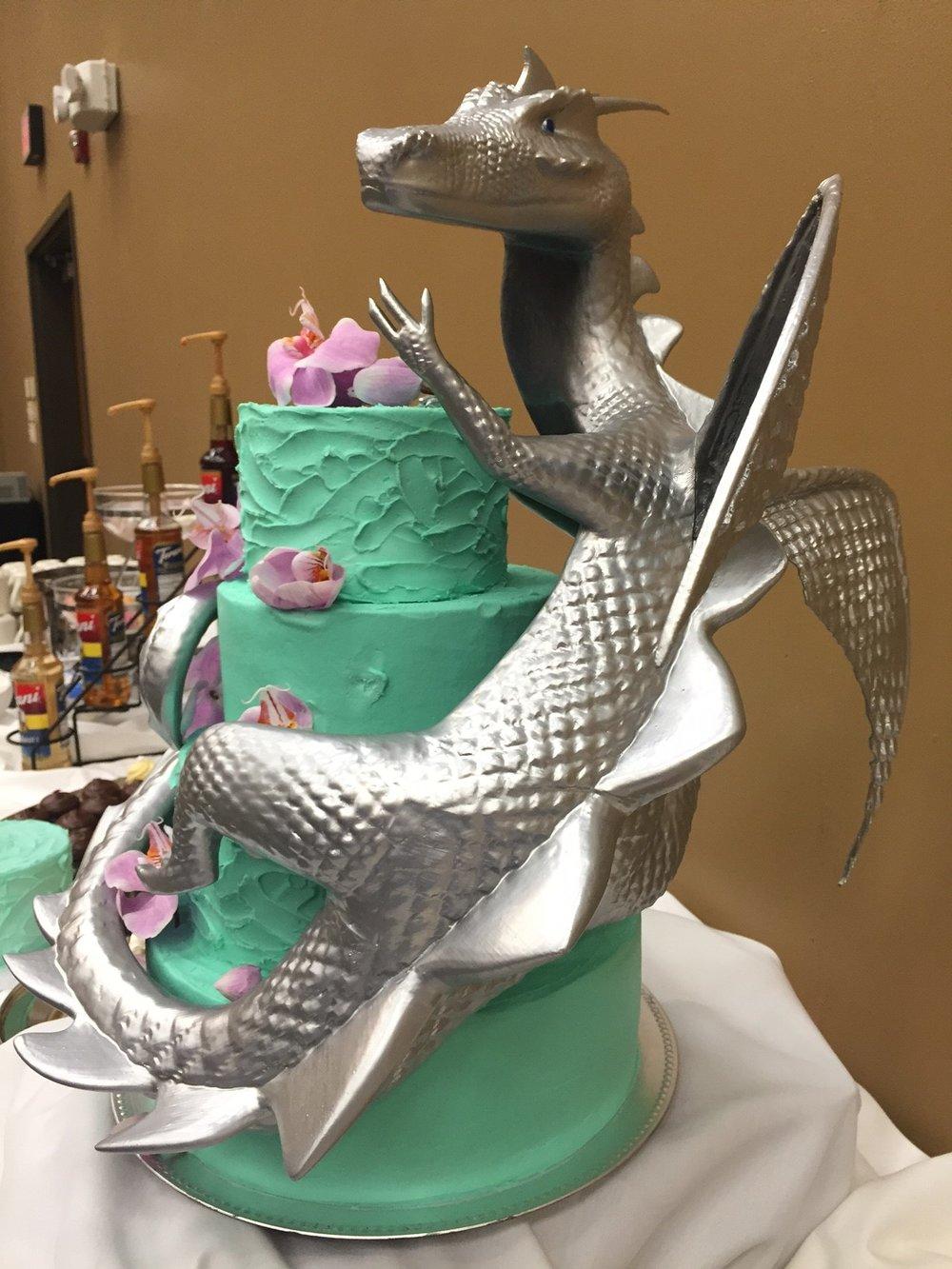 3D Printed Dragon Cake Topper.JPG