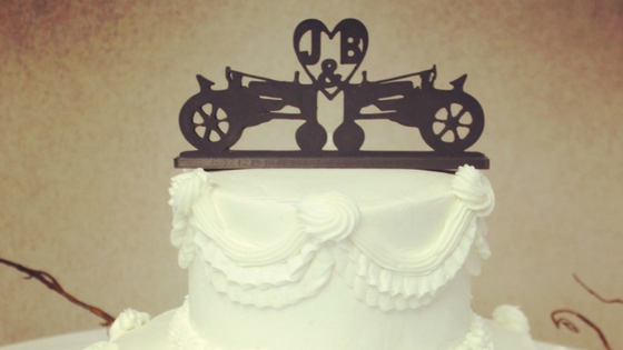 Custom 3D Printed Wedding Cake Toppers — Futurescape 3D