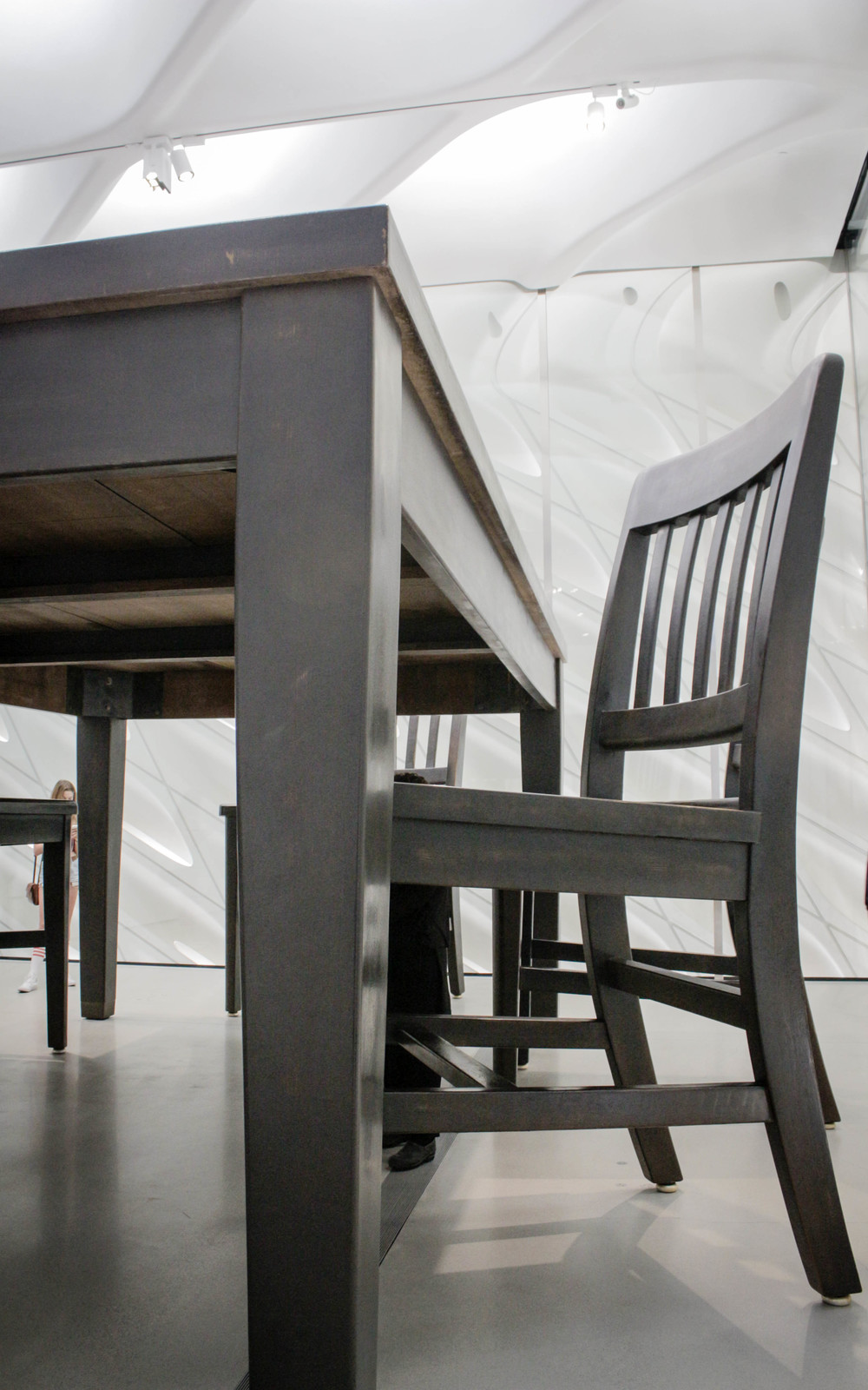 Robert Therrien Under the Table