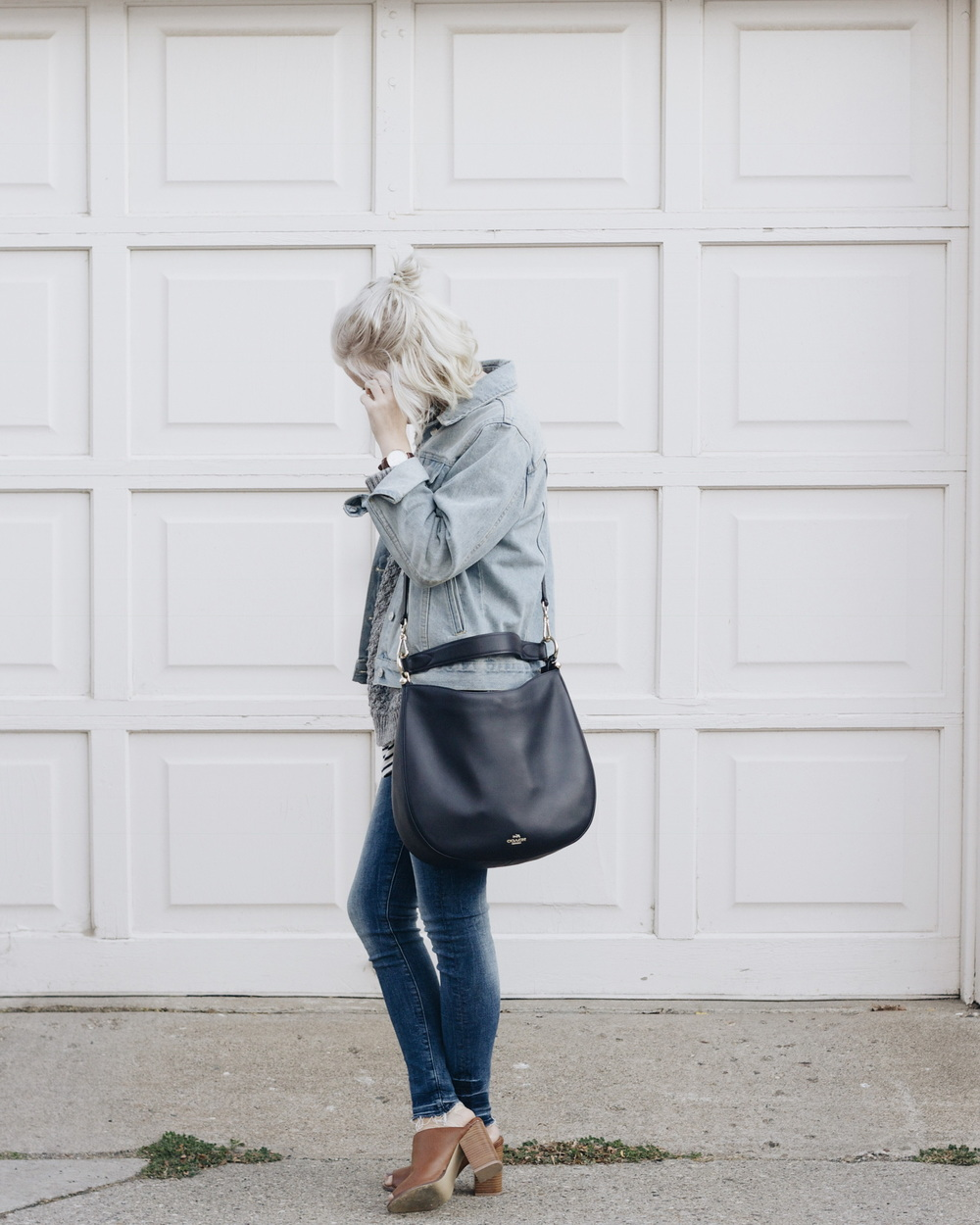 Bag / Coach  Denim Pants / H&M Denim Jacket / Brandy Melville