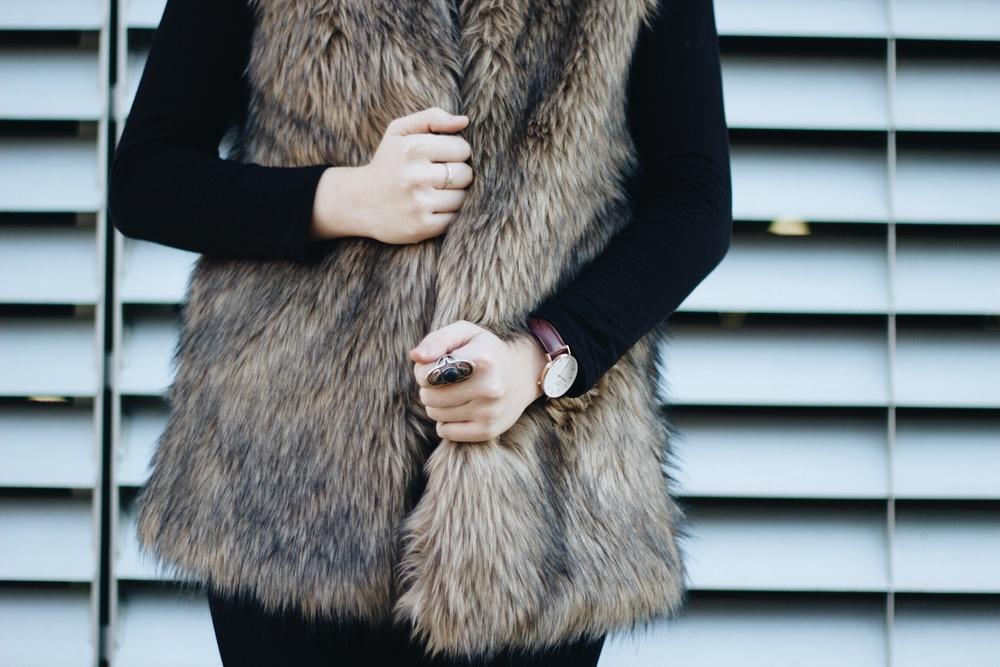 Fur Vest / Target