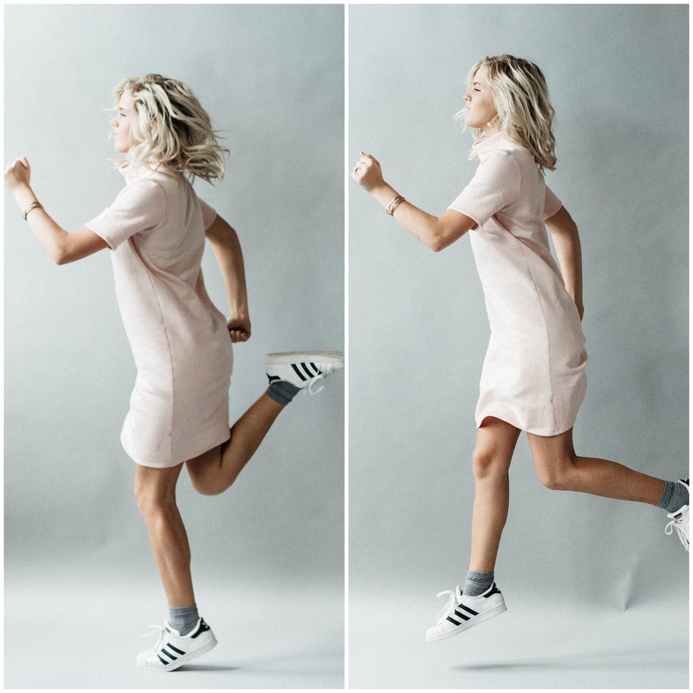 corinne collection pieces are quick-jog ready when you need them