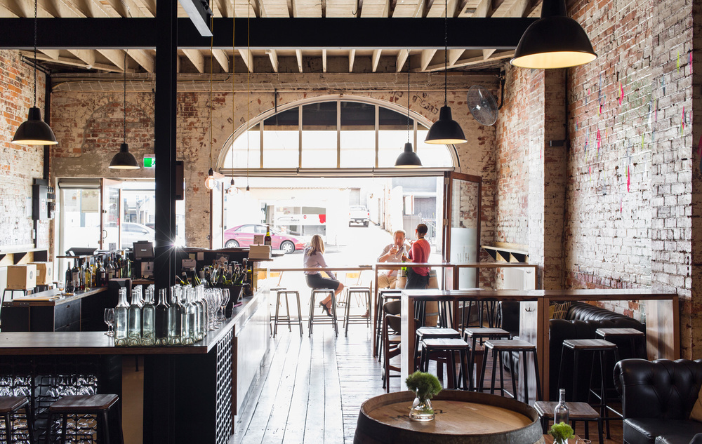 Ballarat's Mitchell Harris Cellar Door and Wine Bar is the place to sit and sip of an evening. Be sure to check whether there is an art exhibition on upstairs. Photography by Martina Gemmola.