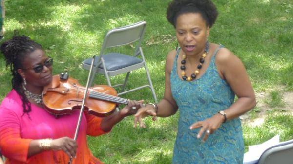 April storytelling at Hamilton Grange Historic Site in Harlem