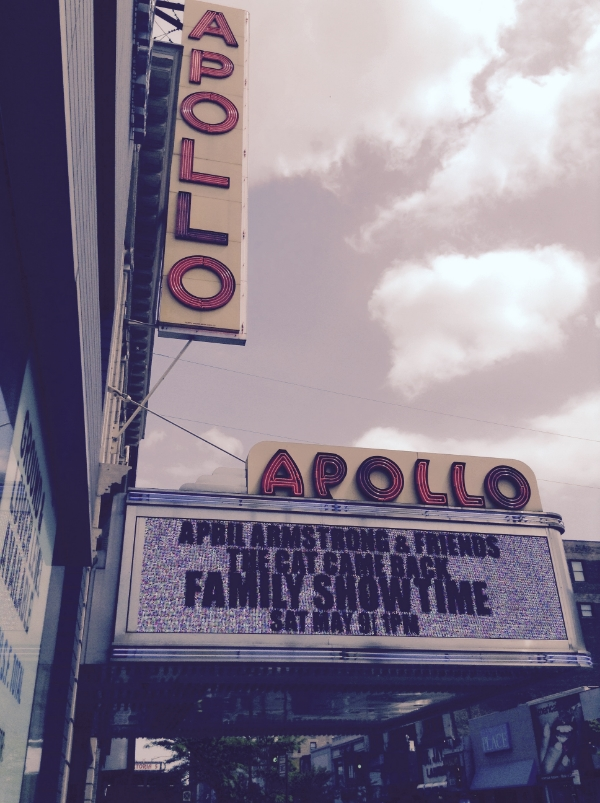 April appears at the legendary Apollo Theater