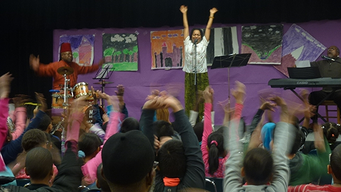 Fun with Jazzy Twist at PS 163 in the Bronx