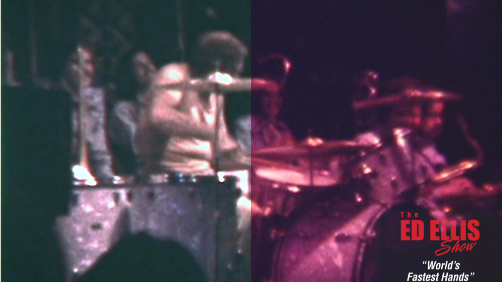 Before and After - Buddy Rich in Idora Park, Youngstown, Ohio