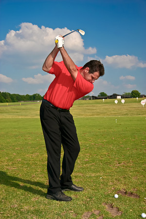 Long-drive champion Mike Zeigler