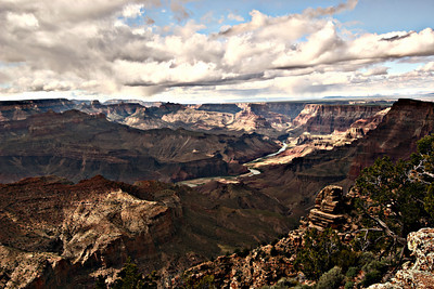 The Grand Canyon (Click on picture for a larger version)