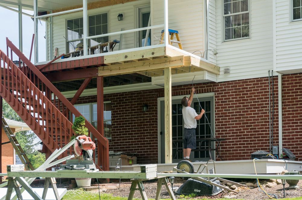 Day 3 Enclosing the Upper Deck