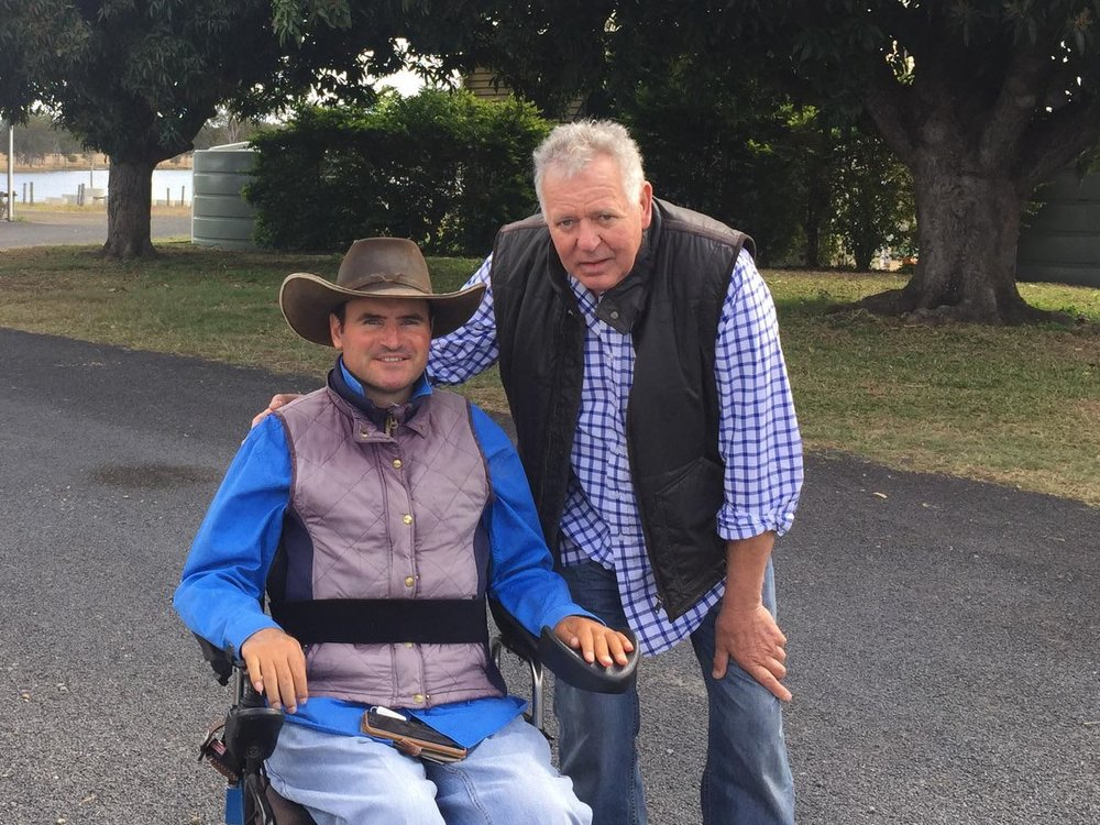 Rob Cook was left paralysed after a helicopter accident, but that hasn't stopped him achieving anything he has wanted to.  Tony recently met up with this remarkable man.