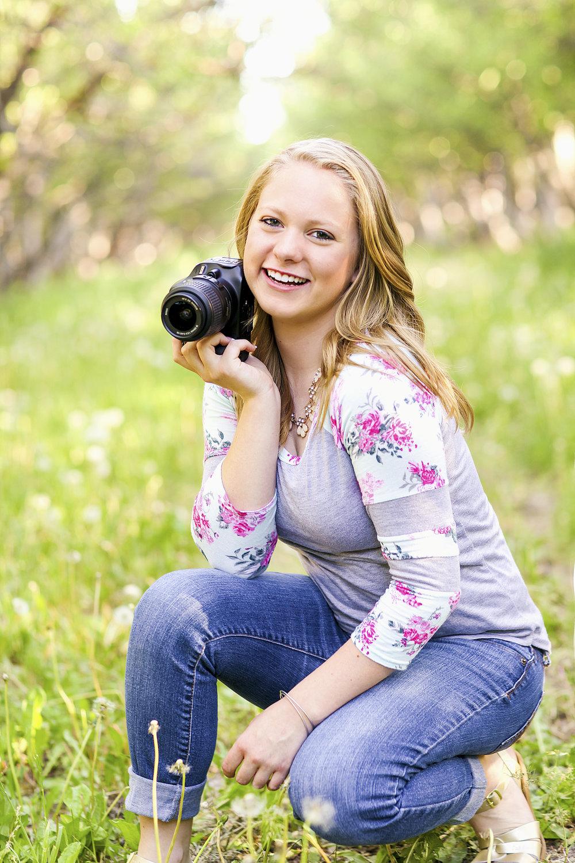Utah High School Photographer | Makayla Hendricks