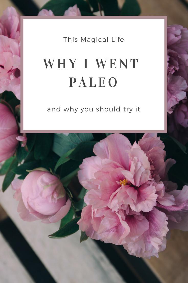 Why I went Paleo