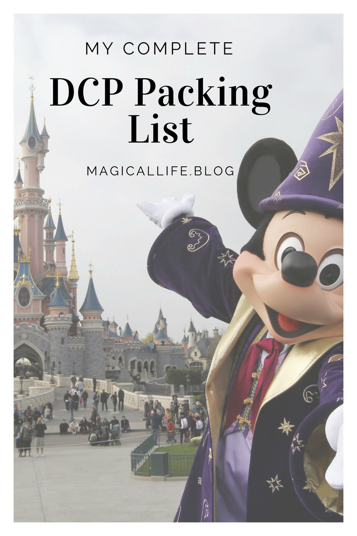 DCP Packing List
