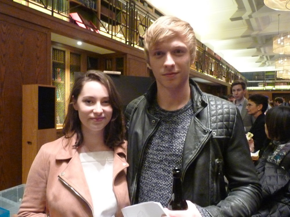 Will Tudor and Lucy Carless from Channel 4 series Humans