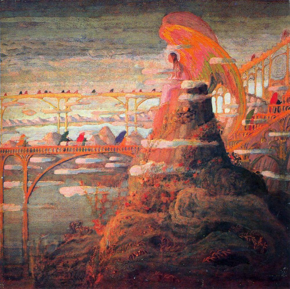 Angel (An Angel Prelude); Mikalojus Ciurlionis;1909