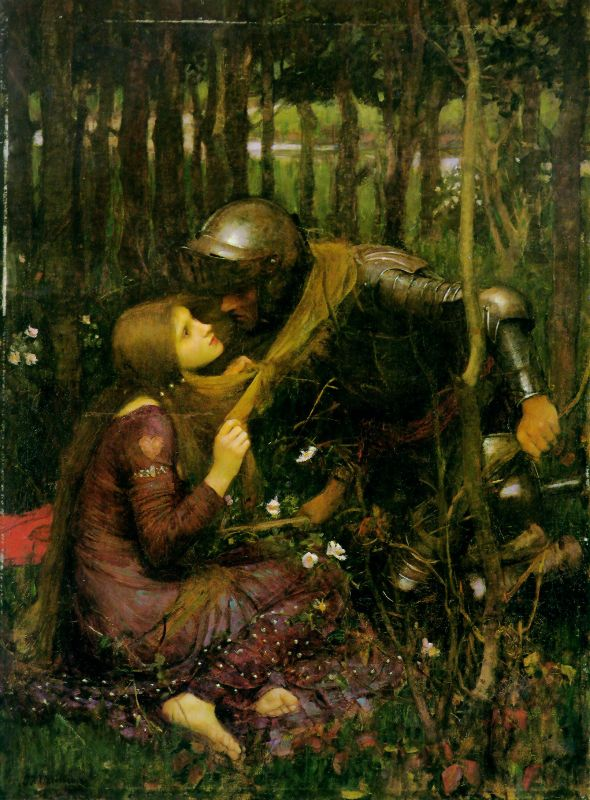 John William Waterhouse;  The Beautiful Lady without Pity;  1893