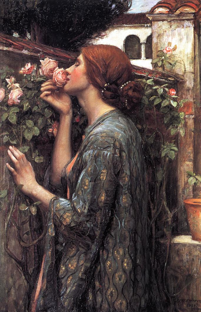 The Soul of the Rose; John William Waterhouse;190