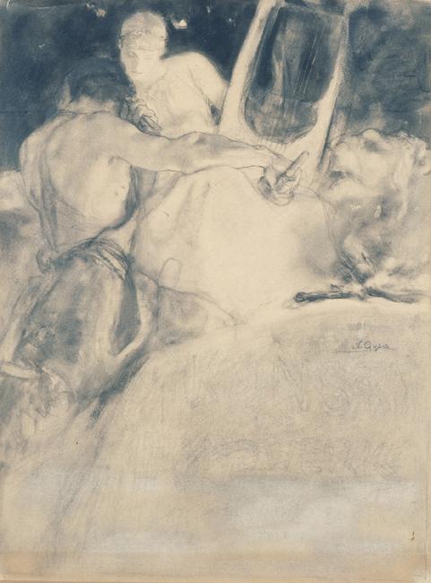 The Soul of the Artist ; Nikolaus Gyzis; 1897