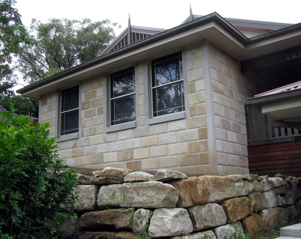 Sandstone Wall Cladding : Willow sandstone tiles pavers outdoor paving wall