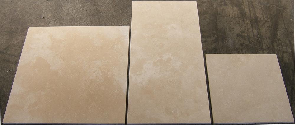 Mocha 457x457, 610x305 and 305x305mm tiles.