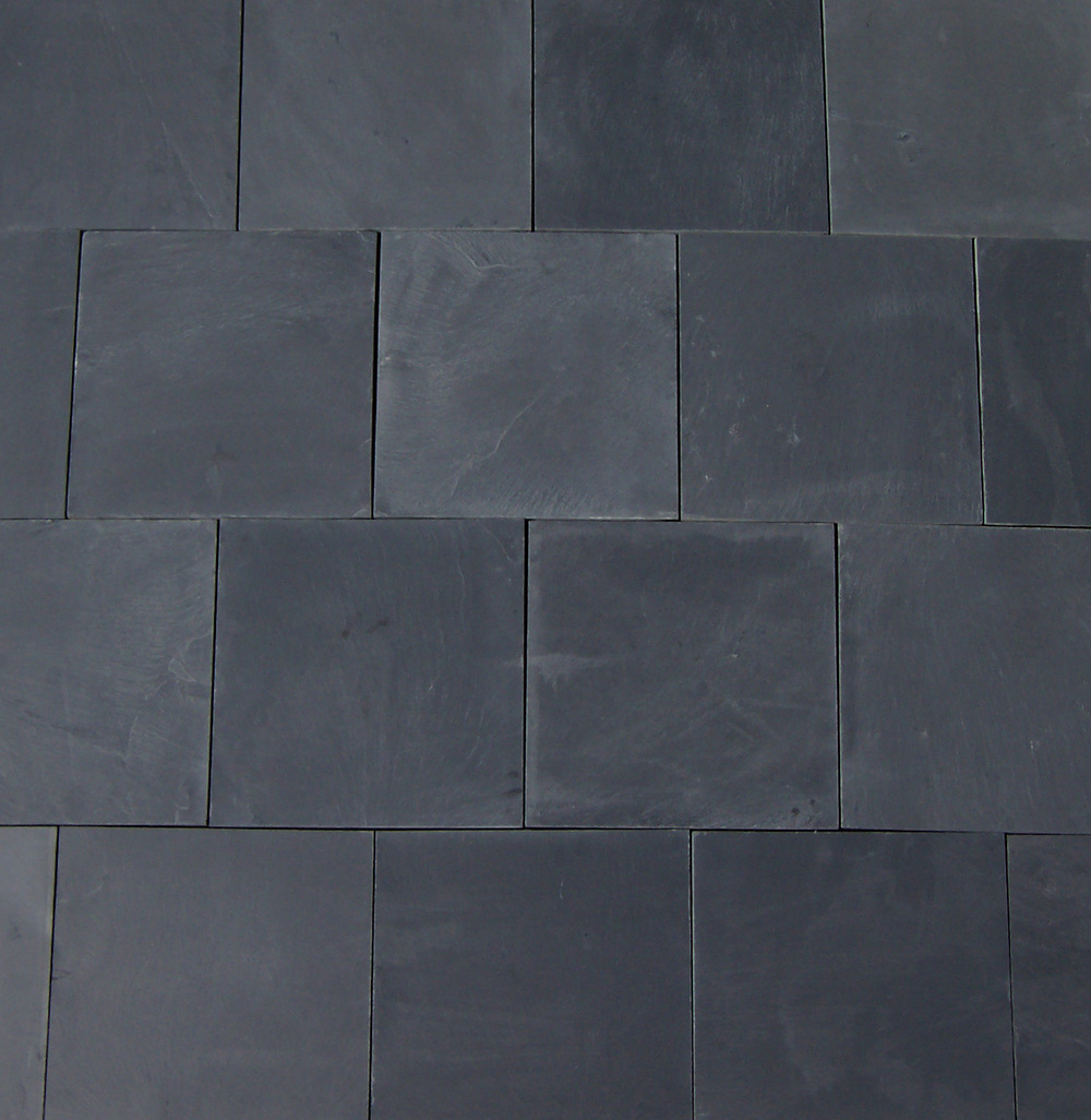 Slate floors pictures black slate calibrated modular tile slate tile floor from pmh chinese black natural split doublecrazyfo Image collections